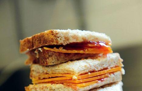 Sandwich Mimolette et confiture de fraise | The Voice of Cheese | Scoop.it