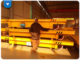 Battery power electric rail car for steel mill | Battery powered transfer cart | Scoop.it