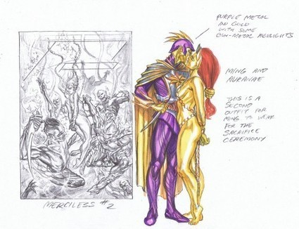 Alex Ross Designs For Flash Gordon And Ming The Merciless | Bleeding Cool Comic Book, Movies and TV News and Rumors | Comic Books | Scoop.it