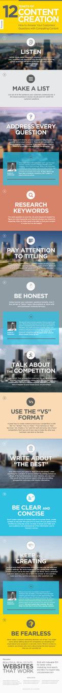 12 principios de la creación de contenidos #infografia #infographic #marketing | SEO | Social Media | UX | Scoop.it
