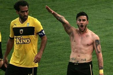 Soccer Player Under Fire Over Nazi Salute During Game | Littlebytesnews Current Events | Scoop.it