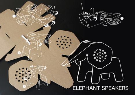 Fantasticas figuras de cartón multifuncionales de Eduardo Alessi | maxoftoy | Scoop.it