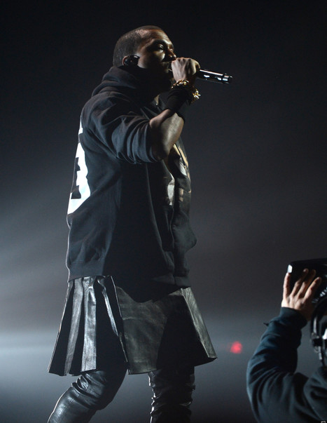 PHOTOS: Kanye's 12-12-12 Concert Outfit Grabbed A Lot Of Attention | Black People News | Scoop.it