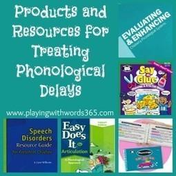 Phonological Delay Treatment Methods Series: A Review | Speech-Language Pathology | Scoop.it