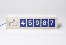 Un compteur physique de fans Facebook à poser sur un comptoir ou dans la vitrine de l'office de tourisme | Médias sociaux et tourisme | Scoop.it