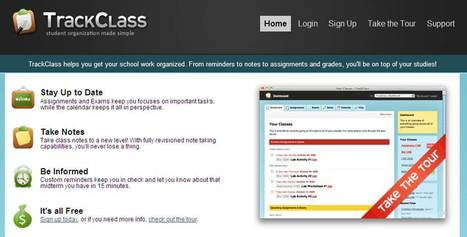 TrackClass - Stay Organized!   30 Sites in 60 Minutes   Scoop.it