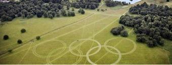 Grandes  aros olímpicos en Londres 2012