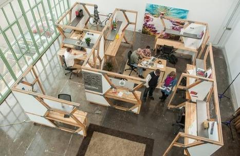 La Ruche qui dit Bonjour ! Des bureaux conçus à partir de matériaux de construction récupérés | Architecture écologique | Scoop.it