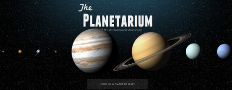 The Planetarium | 21st Century Tools for Teaching-People and Learners | Scoop.it