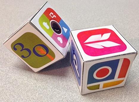 Comfortably 2.0: Creating & App Smashing with App Dice   Edtech PK-12   Scoop.it
