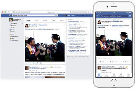 Facebook : la recherche de posts est de nouveau possible | Quoi de neuf sur les réseaux sociaux | Scoop.it