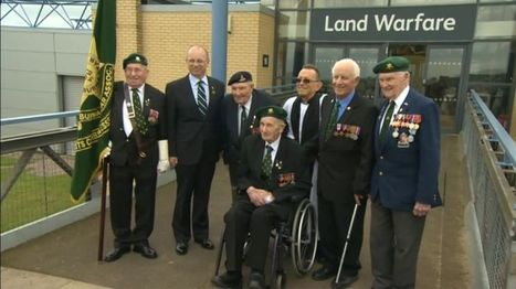 East Anglian Burma veterans hand Standard to Duxford museum - BBC News   World at War   Scoop.it