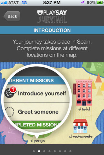 PlaySay gamifies language learning with speech recognition app ... | LearningTech | Scoop.it