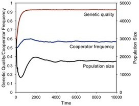 Simulating the Evolution of the Human Family: Cooperative Breeding Increases in Harsh Environments | Social Foraging | Scoop.it