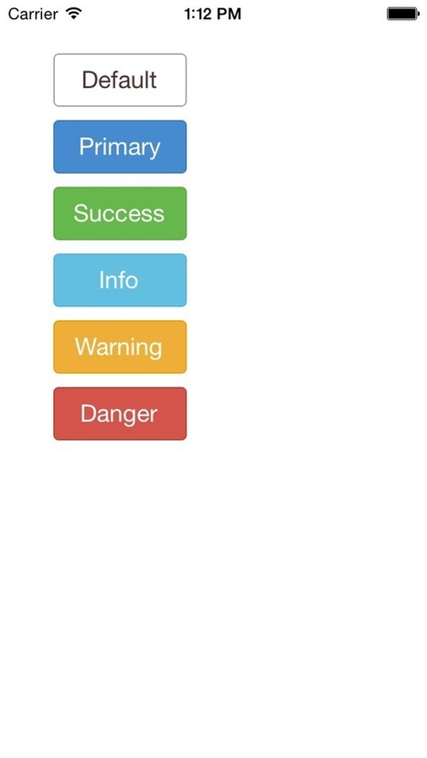 FlatButton for iOS - Cocoa Controls | iOS Development: Tools and Tips | Scoop.it