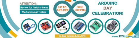 ARDUINO DAY WITH 30% OFF WIN FREEBIES FROM ICSTATION | Arduino, Raspberry Pi | Scoop.it