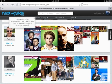 Social TV app NextGuide goes from mobile to the Web - CNET (blog) | SocialTVNews | Scoop.it