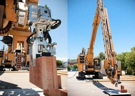 Brick-laying robot can build a full-sized house in two days   David Nield   GizMag.com   @The Convergence of ICT & Distributed Renewable Energy   Scoop.it