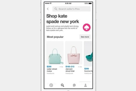 How Pinterest's new features are encouraging users to shop | Pinterest | Scoop.it