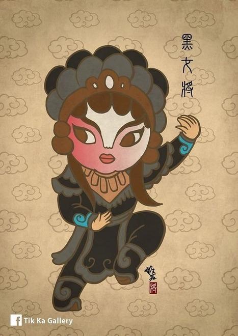 Marvel superheroes get reimagined as Chinese opera characters | Vloasis humor | Scoop.it