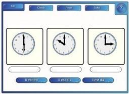 Activité TBI : Dire l'heure (SMART)   FLS / FLsco   Susciter le goût de l'écriture en FLE avec les TICE   Scoop.it
