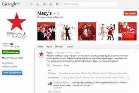 Google+ ouvre les pages pour les annonceurs | Par ici, la veille! | Scoop.it