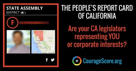 California State Assembly Courage Scores - The People's Report Card of California | The New Public Administration: Arctic Bridge for Social Justice | Scoop.it