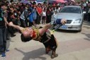 Man pulls car with his eyes sockets! | Strange days indeed... | Scoop.it