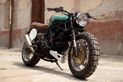 Custom Ducati 600 SuperSport | Gadgetfeast.com | Desmopro News | Scoop.it
