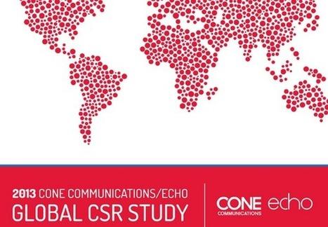Etude 2013 sur la Perception de la RSE par les Consommateurs | e-RSE, communication digitale, sociale et environnementale | RSE & Développement Durable | Scoop.it