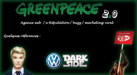 GreenPeace : Votre nouvelle Agence 2.0 | Cuistot des Médias Sociaux | Scoop.it