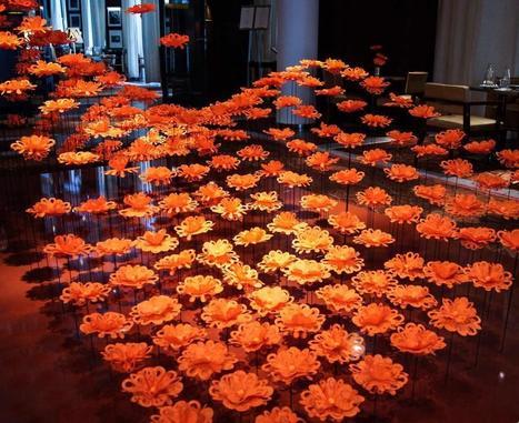 Revisiter les fleurs du lobby d'hôtel par Laurent Delporte, expert dans l'hôtellerie de luxe | Hotel | Scoop.it