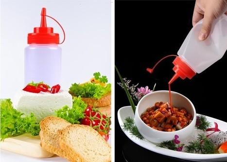 Aliexpress.com : Buy Squeezable Multi function Sauce Bottle for Kitchen from Reliable sauce bottle suppliers on Zhejiang Sanle Plastic Co., Ltd. | plastic bottle | Scoop.it