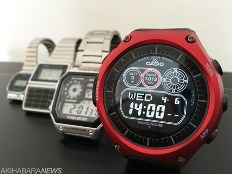 REVIEW: CASIO Smart Outdoor Watch WSD-F10 (VIDEO; GALLERY) | Sports Activities | Scoop.it