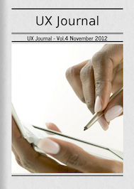 UX Journal - Vol.4 November 2012 | Audiovisual Interaction | Scoop.it