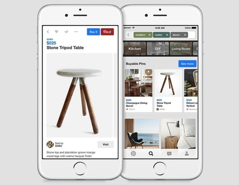 Pinterest Announces Buyable Pins for iPhone, iPad | Everything about PR | Scoop.it