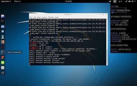 Tutorial para enmascarar y registrar nuestra IP pública (VPN/TOR) desde el inicio en Linux | Bazaar | Scoop.it