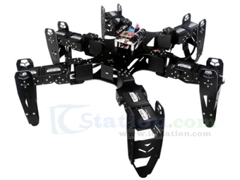 CR-6 Spider Robot 18 DOF Bracket Kit (NO Controller) Support Phone Control - Robot - Arduino, 3D Printing, Robotics, Raspberry Pi, Wearable, LED, development boardICStation | Robot & Parts | Scoop.it