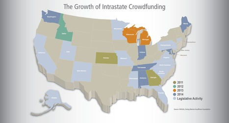 State Equity Crowdfunding Policies Hold Promise | CrowdfundingTrends | Scoop.it