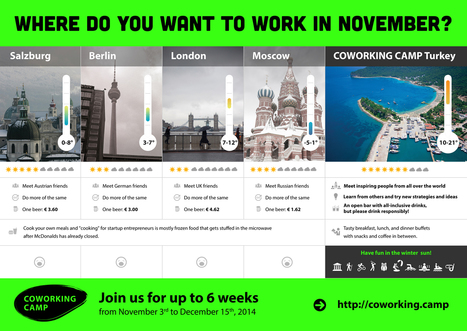 Where do you work in November? | Business | Scoop.it