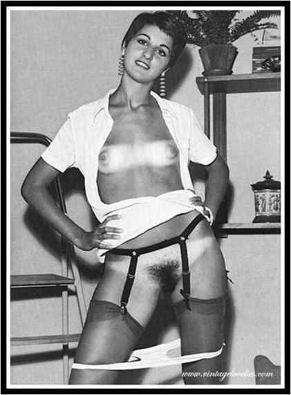Twitter / pink_erotica: 001288 #vintage #tinytits #hairy ... | vintage nudes | Scoop.it