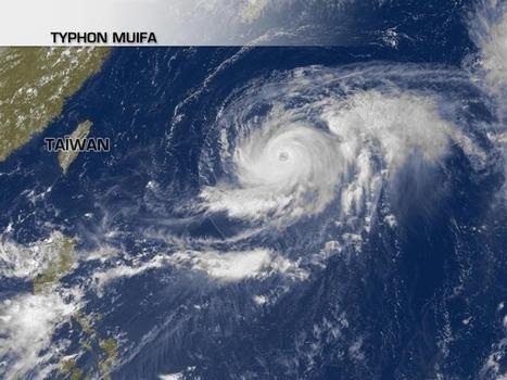 Actualité Météo : Le typhon Muifa menace l'île d'Okinawa | MétéoConsult.fr | Japon : séisme, tsunami & conséquences | Scoop.it