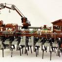 Steampunk Walking Ship   JK Brickworks   LEGO   Scoop.it