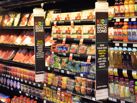 Grocers Lead Kids To Produce Aisle With Junk Food-Style Marketing | Nutrition Dos and Don'ts | Scoop.it
