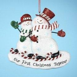 Our First Christmas Together Ornament 2012   Totally Christmas!   Scoop.it