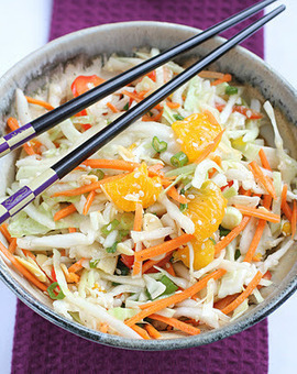Asian Cabbage Slaw   Healthy Whole Foods   Scoop.it