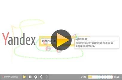 Yandex.Metrica: WebVisor technology | 1Site2Day | Scoop.it