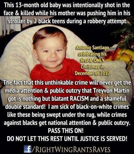 Where is the MSM,Obama&Sharpton?Was Trayvon more important than Antonio? | Littlebytesnews Current Events | Scoop.it