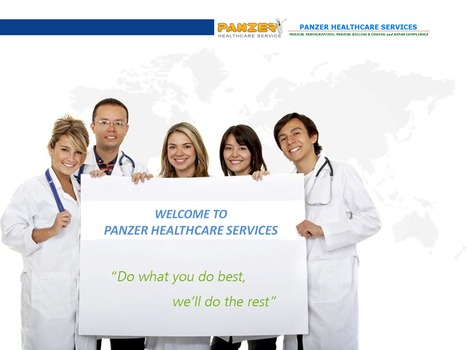 Panzer Healthcare is Best one in Medical Billing & Coding Services | Medical Billing & Coding | Scoop.it