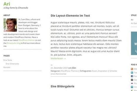 26 New Freebie Wordpress Themes Released in 2012 | SpyreStudios | Wordpress templates | Scoop.it